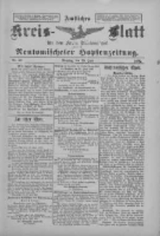 Amtliches Kreis-Blatt für den Kreis Neutomischel: zugleich Neutomischeler Hopfenzeitung 1897.06.29 Nr50