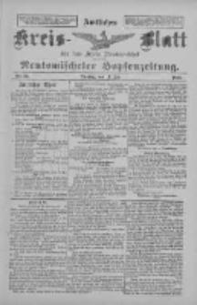 Amtliches Kreis-Blatt für den Kreis Neutomischel: zugleich Neutomischeler Hopfenzeitung 1897.07.13 Nr54