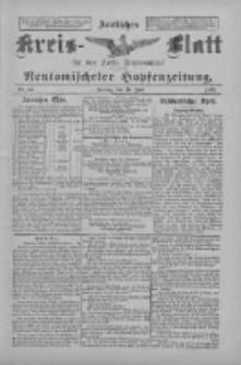 Amtliches Kreis-Blatt für den Kreis Neutomischel: zugleich Neutomischeler Hopfenzeitung 1897.07.16 Nr55
