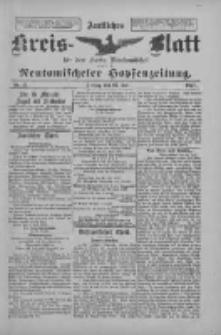 Amtliches Kreis-Blatt für den Kreis Neutomischel: zugleich Neutomischeler Hopfenzeitung 1897.07.23 Nr57