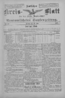 Amtliches Kreis-Blatt für den Kreis Neutomischel: zugleich Neutomischeler Hopfenzeitung 1897.07.30 Nr59