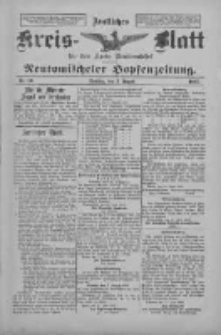 Amtliches Kreis-Blatt für den Kreis Neutomischel: zugleich Neutomischeler Hopfenzeitung 1897.08.03 Nr60
