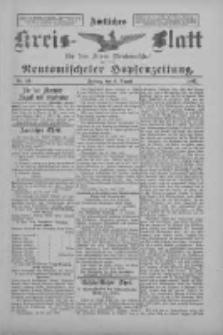 Amtliches Kreis-Blatt für den Kreis Neutomischel: zugleich Neutomischeler Hopfenzeitung 1897.08.06 Nr61