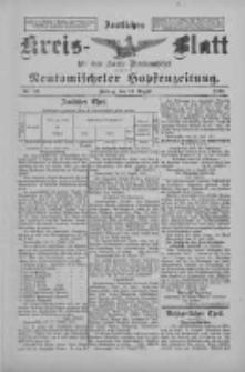 Amtliches Kreis-Blatt für den Kreis Neutomischel: zugleich Neutomischeler Hopfenzeitung 1897.08.13 Nr63