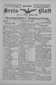 Amtliches Kreis-Blatt für den Kreis Neutomischel: zugleich Neutomischeler Hopfenzeitung 1897.08.17 Nr64