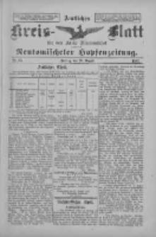Amtliches Kreis-Blatt für den Kreis Neutomischel: zugleich Neutomischeler Hopfenzeitung 1897.08.20 Nr65