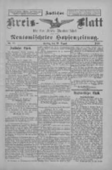 Amtliches Kreis-Blatt für den Kreis Neutomischel: zugleich Neutomischeler Hopfenzeitung 1897.08.27 Nr67