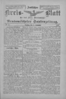 Amtliches Kreis-Blatt für den Kreis Neutomischel: zugleich Neutomischeler Hopfenzeitung 1897.09.21 Nr74