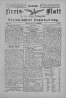 Amtliches Kreis-Blatt für den Kreis Neutomischel: zugleich Neutomischeler Hopfenzeitung 1897.09.24 Nr75