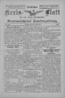 Amtliches Kreis-Blatt für den Kreis Neutomischel: zugleich Neutomischeler Hopfenzeitung 1897.09.28 Nr76