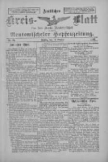 Amtliches Kreis-Blatt für den Kreis Neutomischel: zugleich Neutomischeler Hopfenzeitung 1897.10.15 Nr81