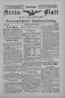 Amtliches Kreis-Blatt für den Kreis Neutomischel: zugleich Neutomischeler Hopfenzeitung 1897.10.22 Nr83
