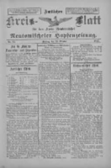 Amtliches Kreis-Blatt für den Kreis Neutomischel: zugleich Neutomischeler Hopfenzeitung 1897.10.29 Nr85