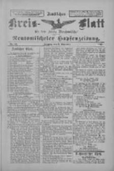 Amtliches Kreis-Blatt für den Kreis Neutomischel: zugleich Neutomischeler Hopfenzeitung 1897.11.09 Nr88
