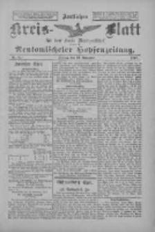 Amtliches Kreis-Blatt für den Kreis Neutomischel: zugleich Neutomischeler Hopfenzeitung 1897.11.19 Nr91