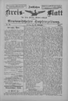 Amtliches Kreis-Blatt für den Kreis Neutomischel: zugleich Neutomischeler Hopfenzeitung 1897.11.26 Nr93