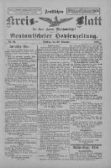 Amtliches Kreis-Blatt für den Kreis Neutomischel: zugleich Neutomischeler Hopfenzeitung 1897.11.30 Nr94