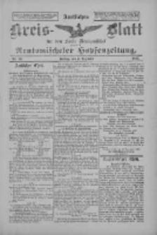 Amtliches Kreis-Blatt für den Kreis Neutomischel: zugleich Neutomischeler Hopfenzeitung 1897.12.03 Nr95
