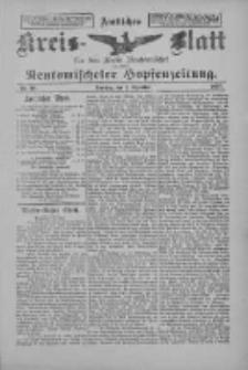 Amtliches Kreis-Blatt für den Kreis Neutomischel: zugleich Neutomischeler Hopfenzeitung 1897.12.07 Nr96