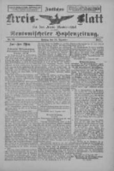 Amtliches Kreis-Blatt für den Kreis Neutomischel: zugleich Neutomischeler Hopfenzeitung 1897.12.10 Nr97