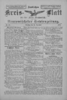 Amtliches Kreis-Blatt für den Kreis Neutomischel: zugleich Neutomischeler Hopfenzeitung 1897.12.14 Nr98