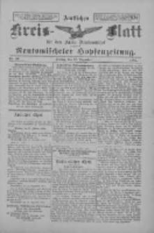Amtliches Kreis-Blatt für den Kreis Neutomischel: zugleich Neutomischeler Hopfenzeitung 1897.12.17 Nr99