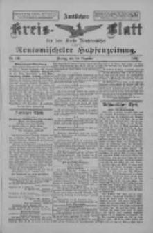 Amtliches Kreis-Blatt für den Kreis Neutomischel: zugleich Neutomischeler Hopfenzeitung 1897.12.24 Nr101