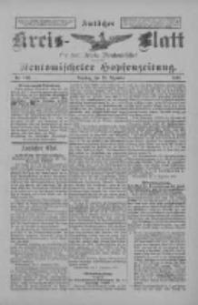 Amtliches Kreis-Blatt für den Kreis Neutomischel: zugleich Neutomischeler Hopfenzeitung 1897.12.28 Nr102