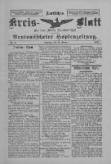 Amtliches Kreis-Blatt für den Kreis Neutomischel: zugleich Neutomischeler Hopfenzeitung 1898.01.11 Nr3