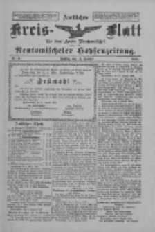 Amtliches Kreis-Blatt für den Kreis Neutomischel: zugleich Neutomischeler Hopfenzeitung 1898.01.14 Nr4