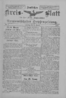 Amtliches Kreis-Blatt für den Kreis Neutomischel: zugleich Neutomischeler Hopfenzeitung 1898.01.25 Nr7