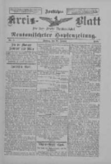Amtliches Kreis-Blatt für den Kreis Neutomischel: zugleich Neutomischeler Hopfenzeitung 1898.01.28 Nr8