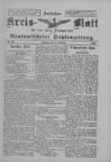 Amtliches Kreis-Blatt für den Kreis Neutomischel: zugleich Neutomischeler Hopfenzeitung 1898.02.11 Nr12