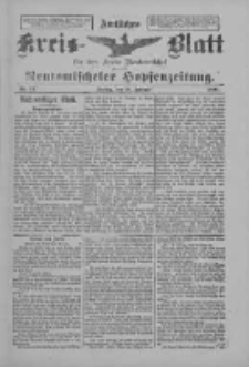Amtliches Kreis-Blatt für den Kreis Neutomischel: zugleich Neutomischeler Hopfenzeitung 1898.02.18 Nr14