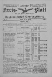 Amtliches Kreis-Blatt für den Kreis Neutomischel: zugleich Neutomischeler Hopfenzeitung 1898.02.25 Nr16