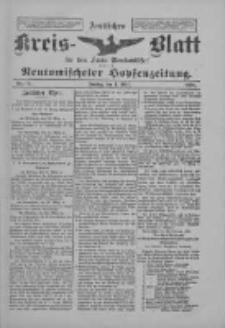 Amtliches Kreis-Blatt für den Kreis Neutomischel: zugleich Neutomischeler Hopfenzeitung 1898.03.04 Nr18