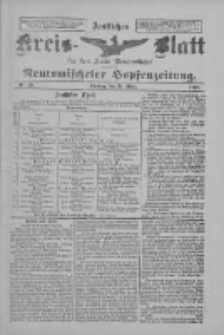 Amtliches Kreis-Blatt für den Kreis Neutomischel: zugleich Neutomischeler Hopfenzeitung 1898.03.29 Nr25