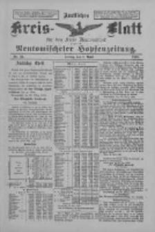 Amtliches Kreis-Blatt für den Kreis Neutomischel: zugleich Neutomischeler Hopfenzeitung 1898.04.01 Nr26