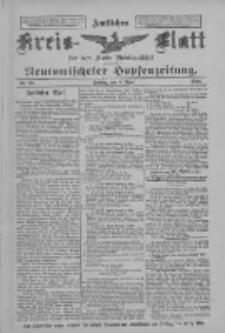 Amtliches Kreis-Blatt für den Kreis Neutomischel: zugleich Neutomischeler Hopfenzeitung 1898.04.08 Nr28