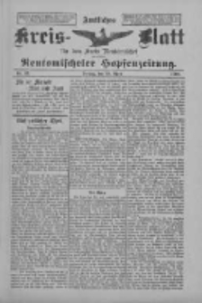 Amtliches Kreis-Blatt für den Kreis Neutomischel: zugleich Neutomischeler Hopfenzeitung 1898.04.29 Nr33