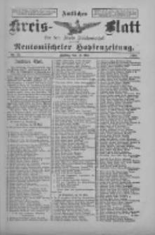 Amtliches Kreis-Blatt für den Kreis Neutomischel: zugleich Neutomischeler Hopfenzeitung 1898.05.13 Nr37