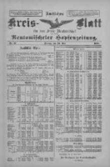 Amtliches Kreis-Blatt für den Kreis Neutomischel: zugleich Neutomischeler Hopfenzeitung 1898.05.20 Nr39