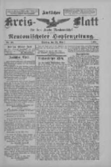 Amtliches Kreis-Blatt für den Kreis Neutomischel: zugleich Neutomischeler Hopfenzeitung 1898.05.24 Nr40