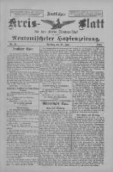 Amtliches Kreis-Blatt für den Kreis Neutomischel: zugleich Neutomischeler Hopfenzeitung 1898.06.21 Nr47
