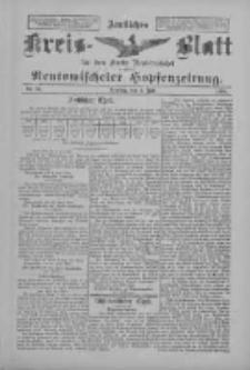 Amtliches Kreis-Blatt für den Kreis Neutomischel: zugleich Neutomischeler Hopfenzeitung 1898.07.05 Nr51