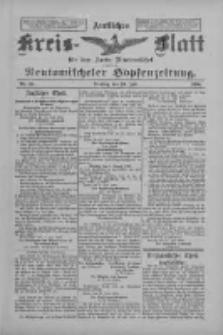 Amtliches Kreis-Blatt für den Kreis Neutomischel: zugleich Neutomischeler Hopfenzeitung 1898.07.19 Nr55