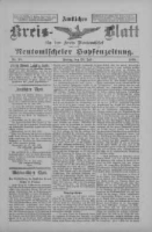 Amtliches Kreis-Blatt für den Kreis Neutomischel: zugleich Neutomischeler Hopfenzeitung 1898.07.29 Nr58