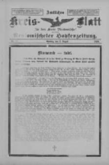Amtliches Kreis-Blatt für den Kreis Neutomischel: zugleich Neutomischeler Hopfenzeitung 1898.08.02 Nr59