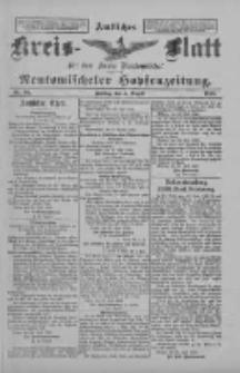 Amtliches Kreis-Blatt für den Kreis Neutomischel: zugleich Neutomischeler Hopfenzeitung 1898.08.05 Nr60