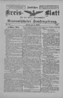 Amtliches Kreis-Blatt für den Kreis Neutomischel: zugleich Neutomischeler Hopfenzeitung 1898.08.12 Nr62